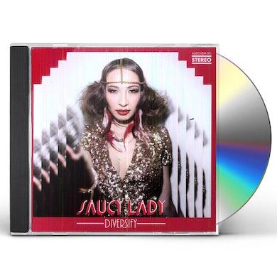 Saucy Lady DIVERSIFY CD