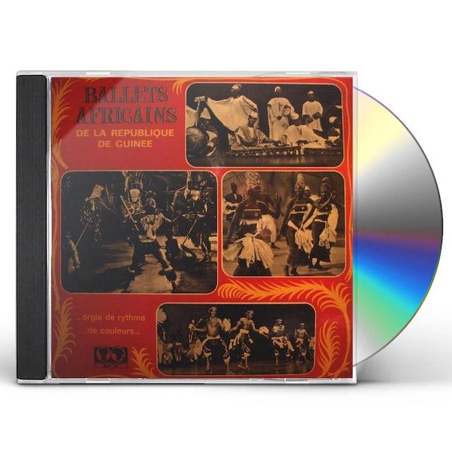 Les Ballets Africains ORGIE DE RYTHME DE COULEURS CD