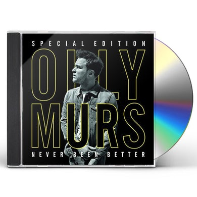 Olly Murs NEVER BEEN BETTER: SPECIAL EDITION CD