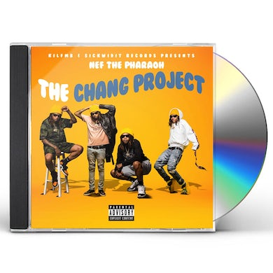 Nef The Pharaoh THE CHANG PROJECT CD