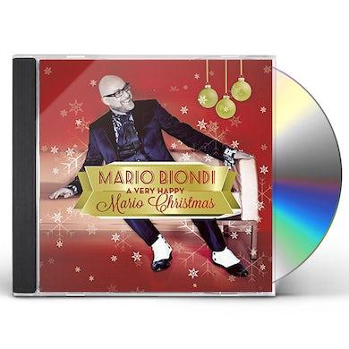 Mario Biondi VERY HAPPY MARIO CHRISTMAS CD