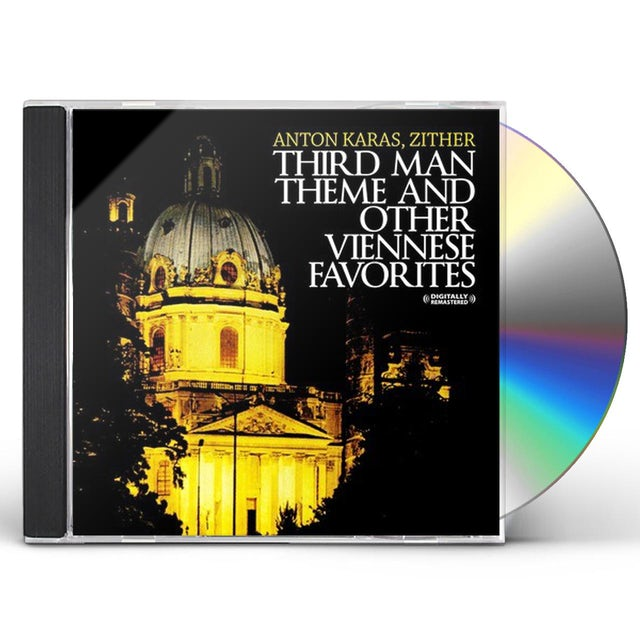 Anton Karas THIRD MAN THEME & OTHER VIENNESE FAVORITES CD
