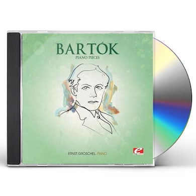 Bartok PIANO PIECES CD