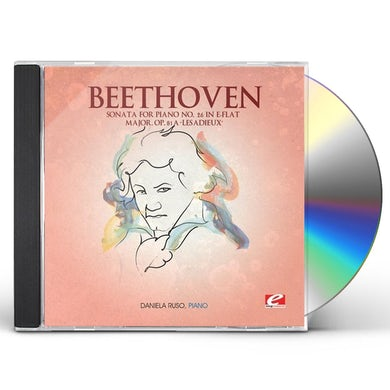 Ludwig Van Beethoven SONATA FOR PIANO 26 IN E-FLAT MAJOR CD