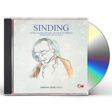 Sinding FRUHLINGSRAUSCHEN (RUSTLE OF SPRING) FOR PIANO OP. CD