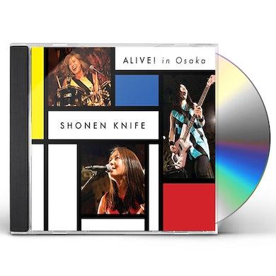 Shonen Knife ALIVE IN OSAKA CD