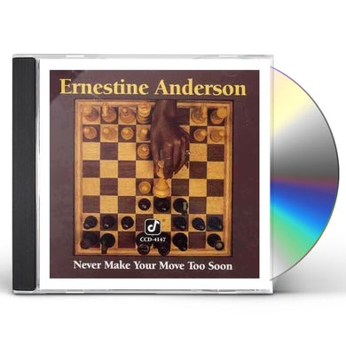 Ernestine Anderson NEVER MAKE YOUR MOVE TOO SOON CD
