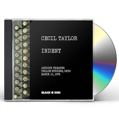 Cecil Taylor INDENT CD
