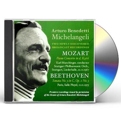 Arturo Benedetti Michelangeli 2 NEWLY DISCOVERED BROADCAST RECORDINGS CD