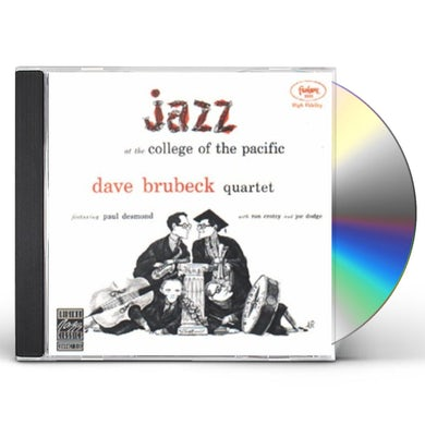 Dave Brubeck JAZZ AT THE COLLEGE OF THE PACIFIC 1 CD