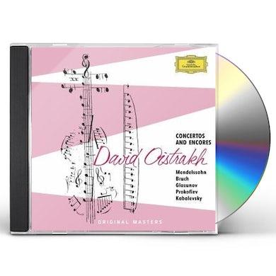 David Oistrakh CONCERTOS & ENCORES CD