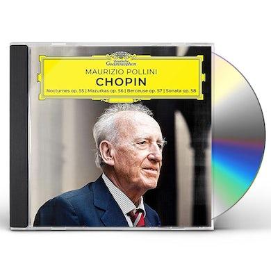Maurizio Pollini CHOPIN: NOCTURNES / MAZURKAS / BERCEUSE / SONATA CD