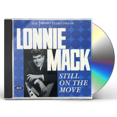 Lonnie Mack STILL ON THE MOVE CD