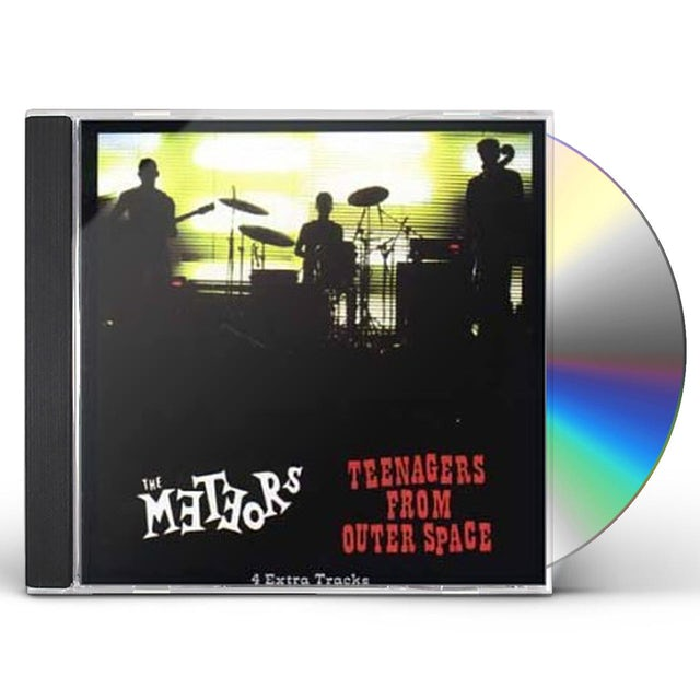 The Meteors TEENAGERS FROM OUTER SPACE CD