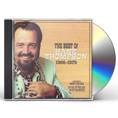 Hank Thompson BEST OF 1966-79 CD