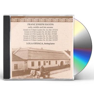 Haydn KEYBOARD WORKS CD