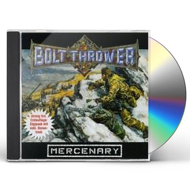 Bolt Thrower MERCENARY CD