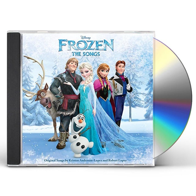 FROZEN: THE SONGS / VARIOUS CD