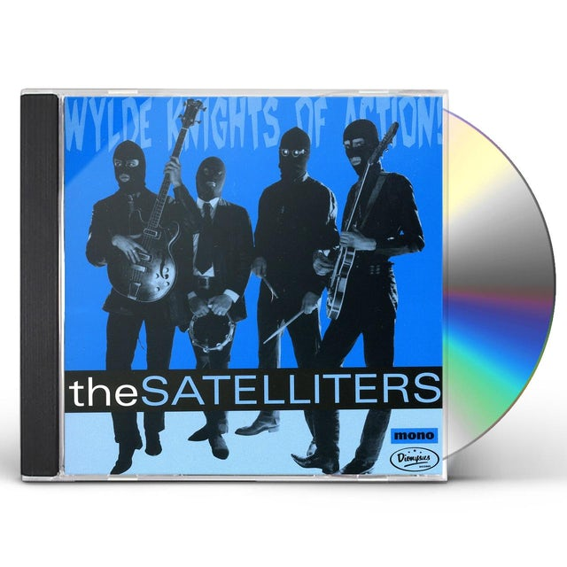 Satelliters WYLDE KNIGHTS OF ACTION CD
