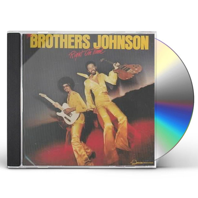 Brothers Johnson RIGHT ON TIME CD