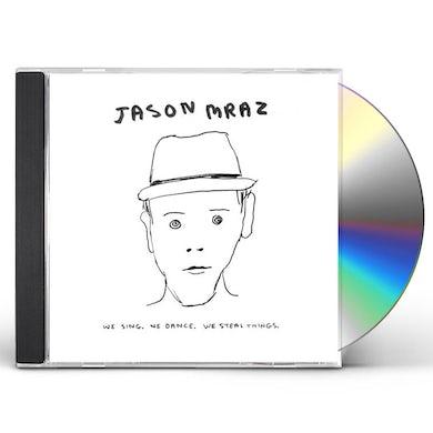 Jason Mraz WE SING WE DANCE WE STEAL THINGS CD