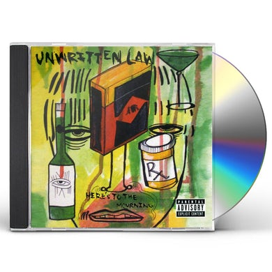 Unwritten Law HERE'S TO THE MOURNING CD