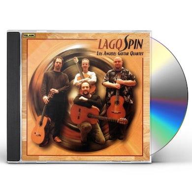 Los Angeles Guitar Quartet LAGQ: SPIN CD
