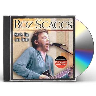 Boz Scaggs HERE'S THE LOWDOWN CD