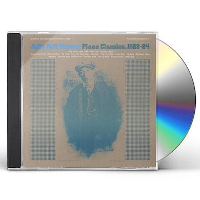 JELLY ROLL MORTON PIANO CLASSICS, 1923-24 CD