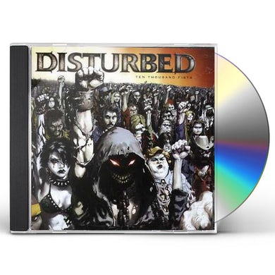 Disturbed TEN THOUSAND FISTS (TOUR EDITION) CD