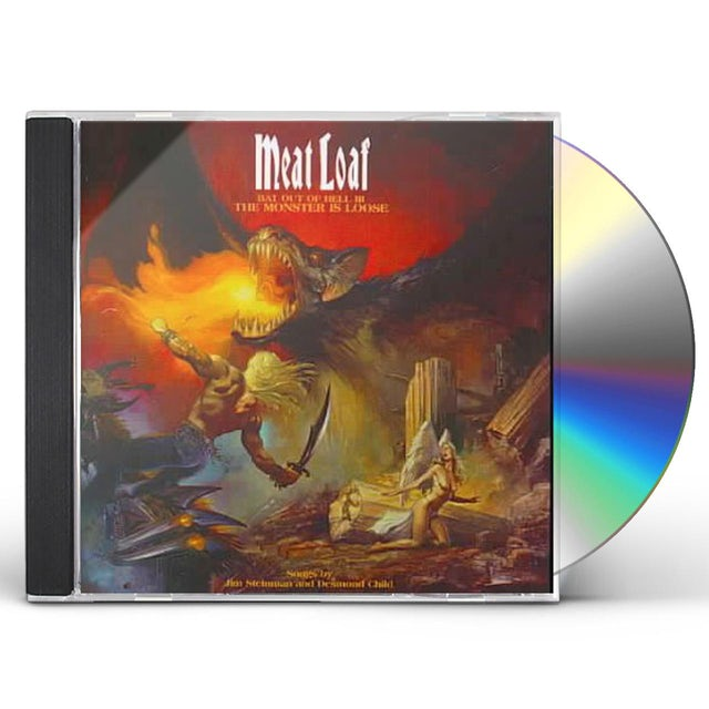 Meat Loaf BAT OUT OF HELL 3 CD