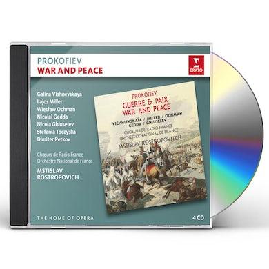 PROKOFIEV: WAR & PEACE CD