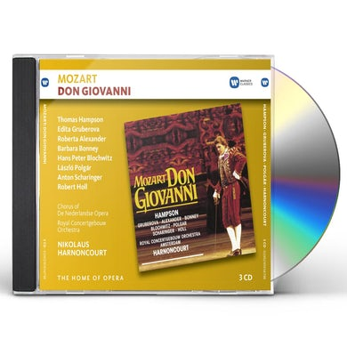 Nikolaus Harnoncourt DON GIOVANNI CD