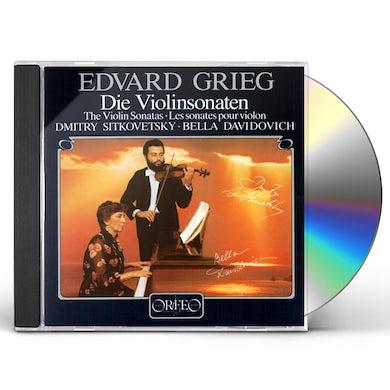 Grieg SONATAS FOR VIOLIN & PIANO CD