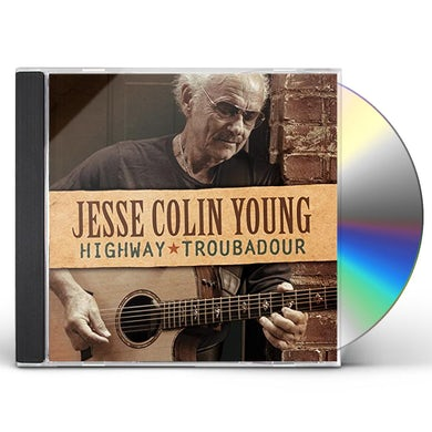 Jesse Colin Young HIGHWAY TROUBADOUR CD
