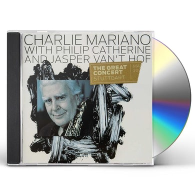 Charlie Mariano GREAT CONCERT CD