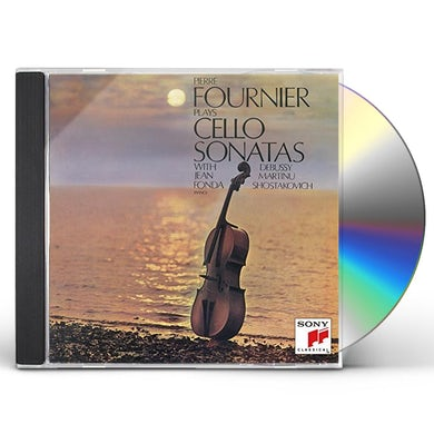Pierre Fournier SHOSTAKOVICH: DEBUSSY & MARTINU CD