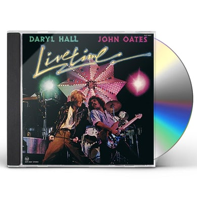 Hall & Oates LIVE TIME CD