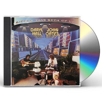 Hall & Oates BIGGER THAN BOTH OF US CD