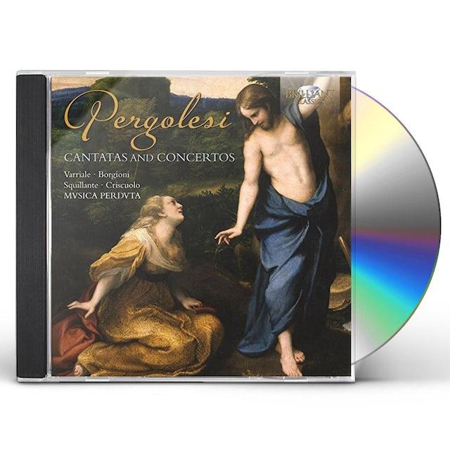 Pergolesi CANTATAS & CTOS CD