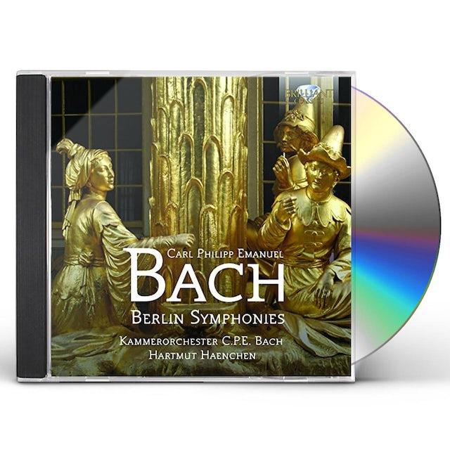 J.S. Bach BERLIN SYMPHONIES CD