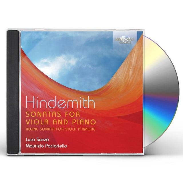 Hindemith SONATAS FOR VIOLA & PIANO CD