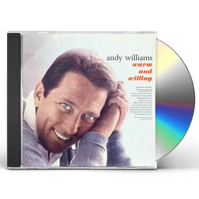 Andy Williams WARM & WILLING CD
