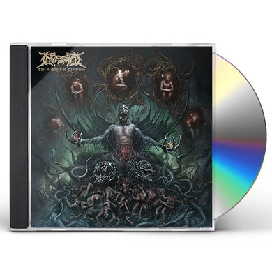 INGESTED ARCHITECT OF EXTINCTION CD