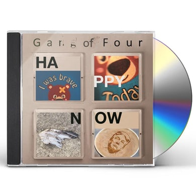 Gang Of Four HAPPY NOW CD