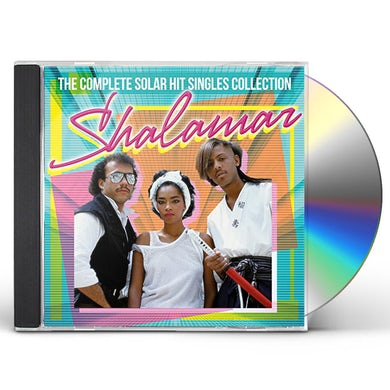 Shalamar COMPLETE SOLAR HIT SINGLES COLLECTION CD