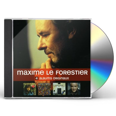 Maxime Le Forestier 4 ORIGINAL ALBUMS CD