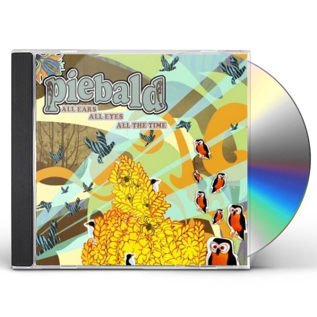 Piebald ALL EARS ALL EYES ALL THE TIME CD