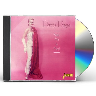 Patti Page KEEP ME IN MIND CD