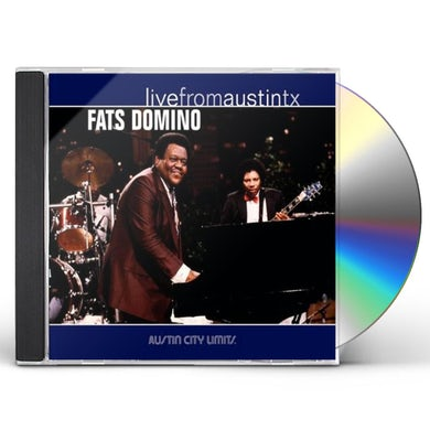 Fats Domino LIVE FROM AUSTIN TEXAS CD